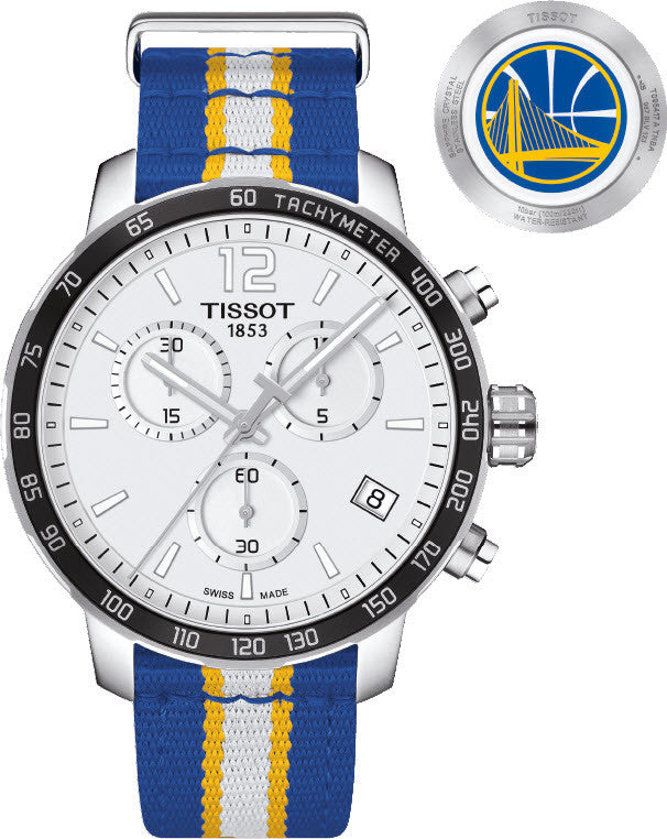 Tissot Watch Quickster NBA Golden State Warriors