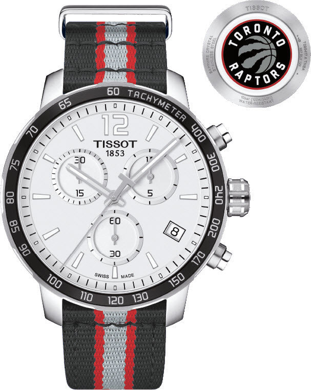 Tissot Watch Quickster NBA Toronto Raptors