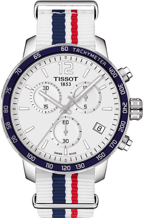 Tissot Watch Quickster Chronograph Nato