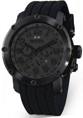 TW Steel Watch Tech Black 45mm D