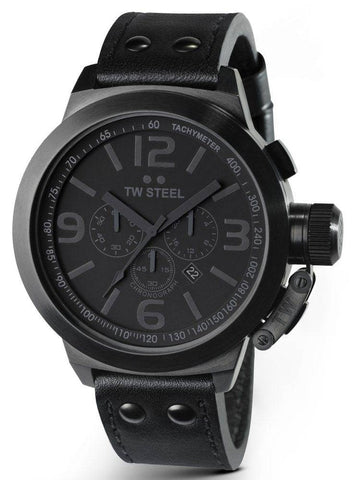 TW Steel Watch Cool Black 45mm
