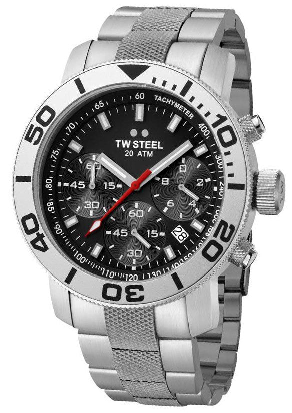 TW Steel Watch Grandeur Diver 45mm