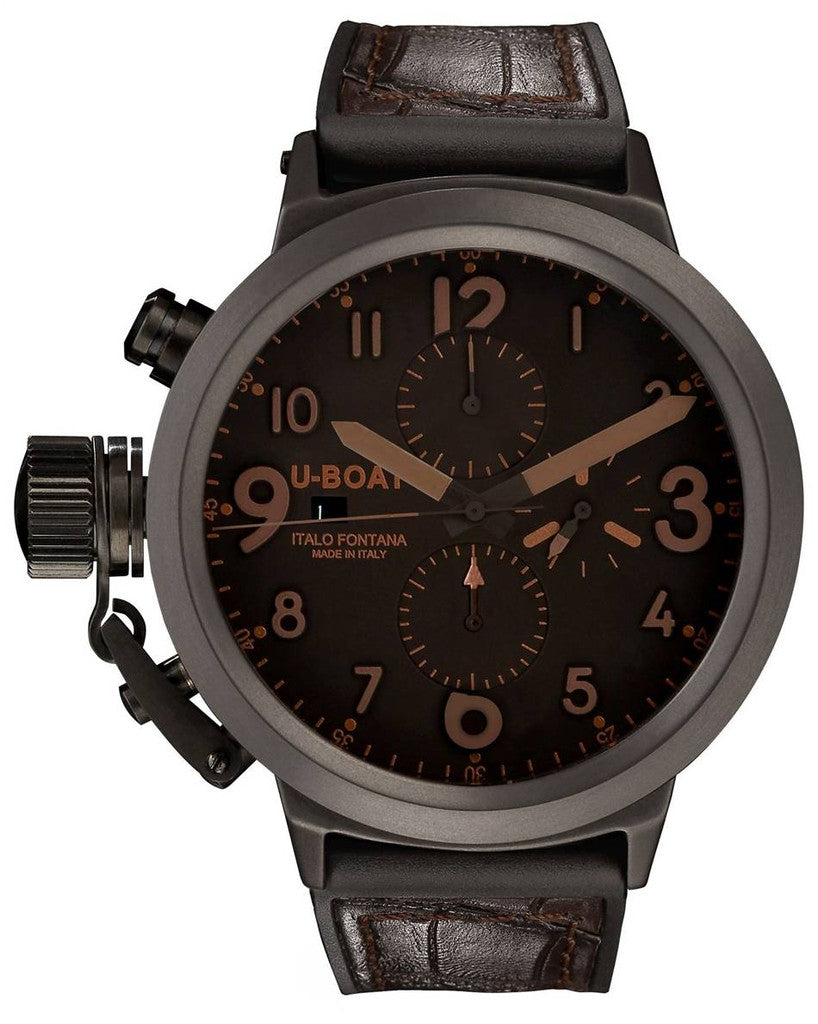 U-Boat Flightdeck 50 Ceramic Brown D