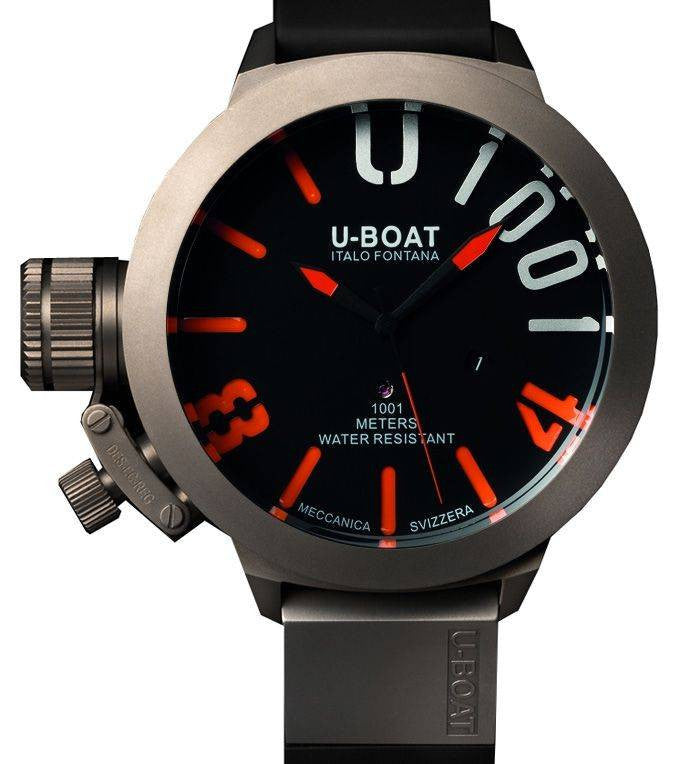 U-Boat Classico U-1001 Orange Limited Edition D