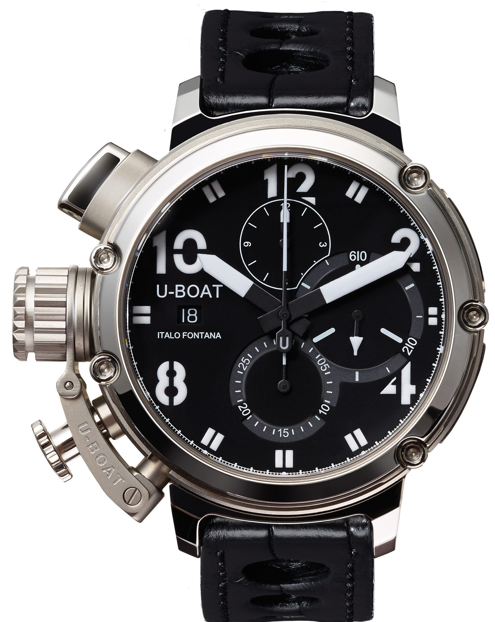 Limited Edition Birthday Collection: U-Boat Watch Chimera 46 Sideview Limited Edition D 7224 Watch