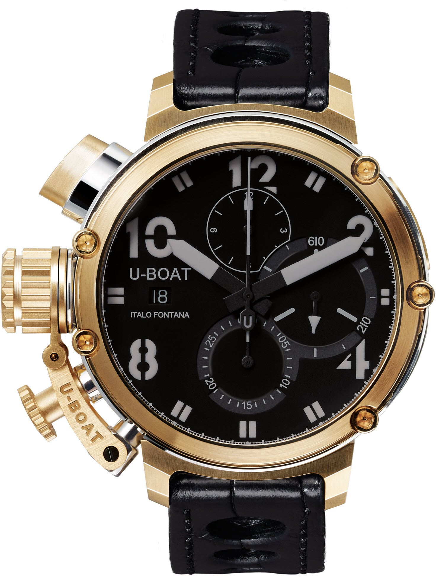 U-Boat Watch Chimera 46 Sideview 18ct Gold Limited Edition