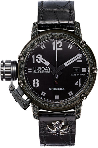 U-Boat Watch Chimera 43 PVD Black Diamonds Limited Edition D