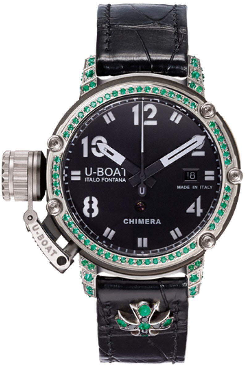 U-Boat Watch Chimera 43 925 Emerald Limited Edition D