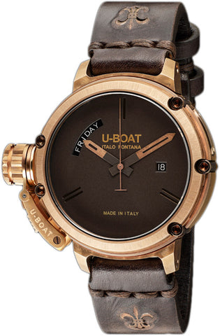 U-Boat Watch Chimera Day Date Bronze Limited Edition