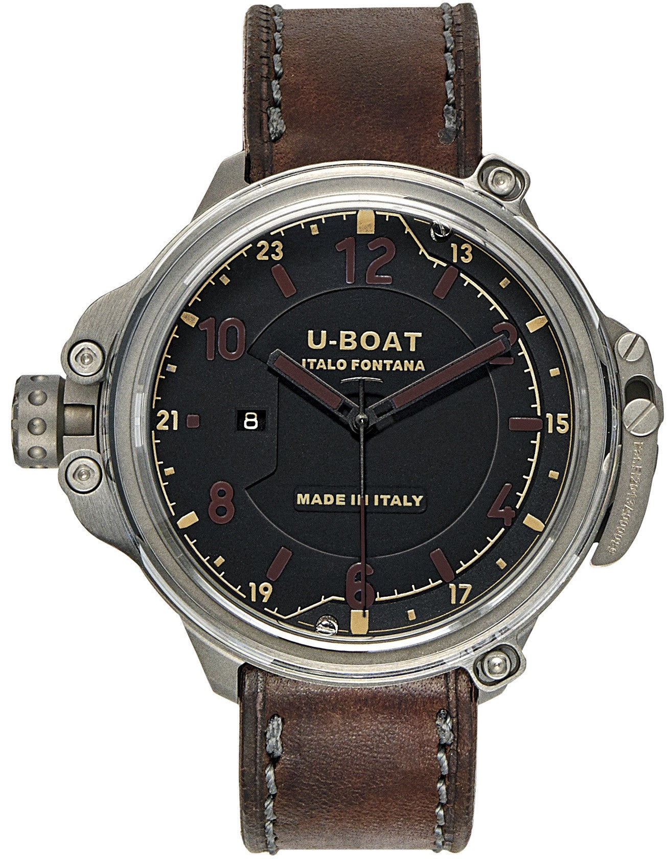 U-Boat Watch Capsule 50 Black Plexi Limited Edition