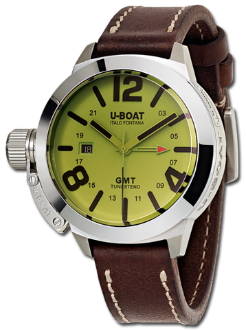U-Boat Watch Classico 45 GMT 45 BE Iridescent Effect