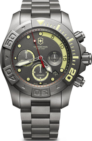 Victorinox Swiss Army Watch Dive Master 500 Mechanical Chronograph Limited Edition