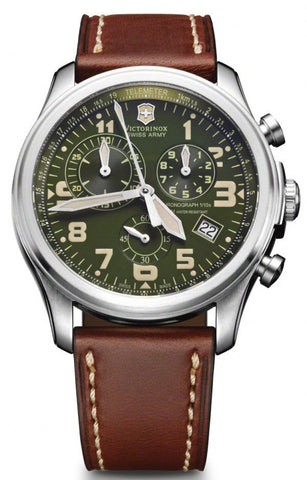 Victorinox Swiss Army Watch Infantry Vintage Quartz Chronograph