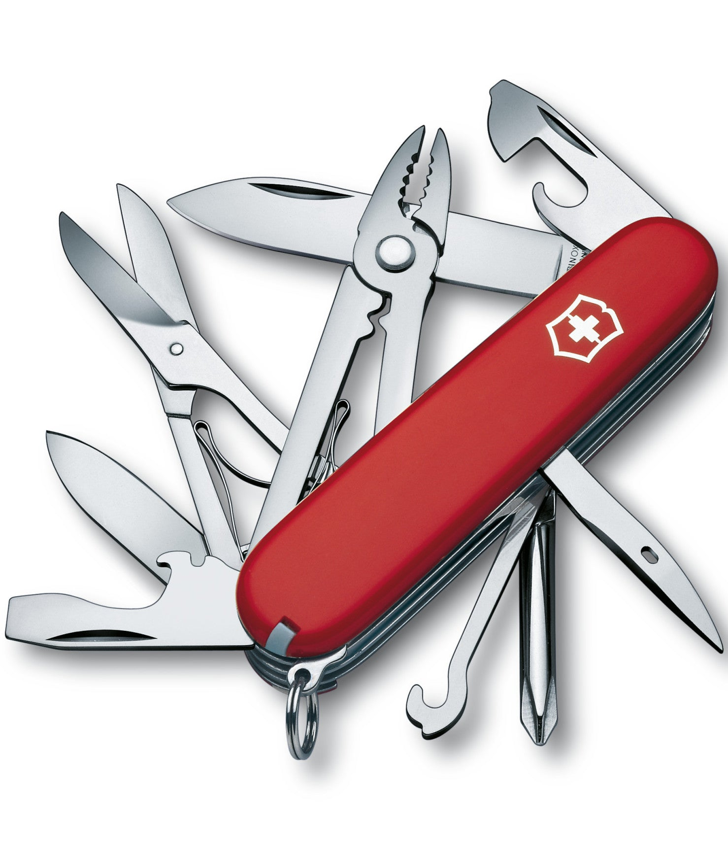 Victorinox Swiss Army Medium Pocket Knife Deluxe Tinker