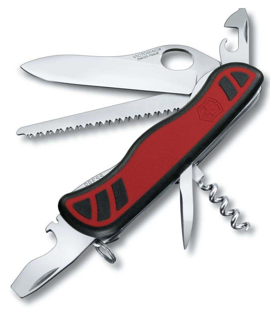 Victorinox Swiss Army Large Pocket Knife Forester One Handed