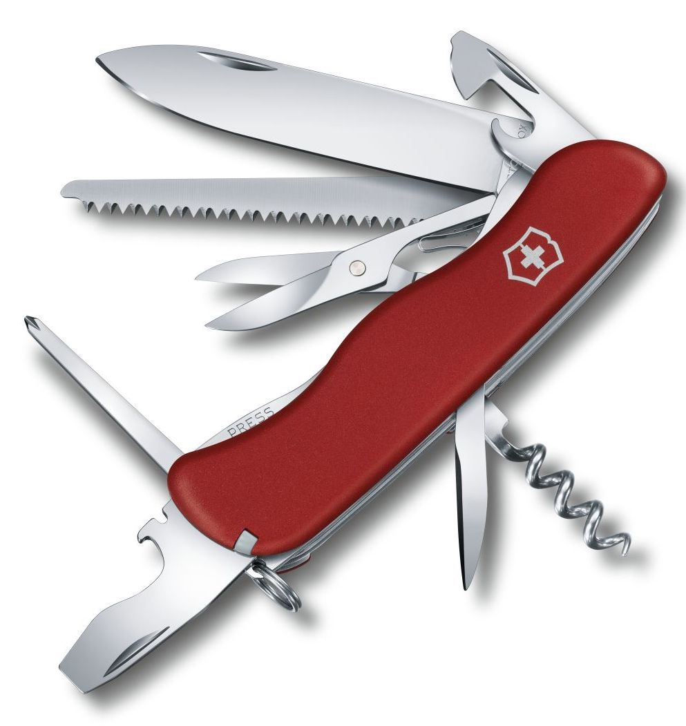 Victorinox Swiss Army Large Pocket Knife Outrider