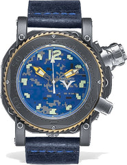 Visconti Watch Pro Dive 3000 Camo Urban Navy