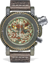 Visconti Watch Pro Dive 3000 Camo Jungle Green