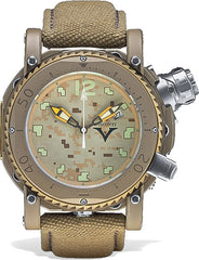 Visconti Watch Pro Dive 3000 Camo Desert Sand