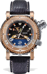 Visconti Watch Pro Dive 3000 Abyssus Titanium Bronze