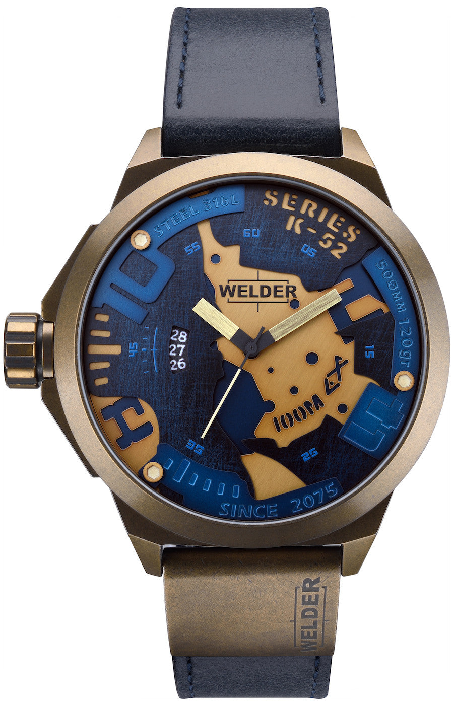 welder watch the bold k52 mens