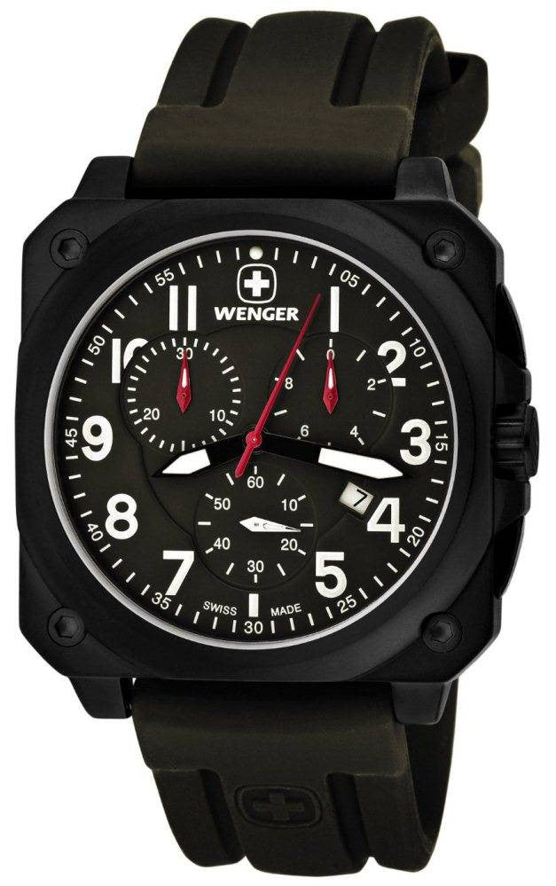 Wenger Watch Aerograph Cockpit Chrono D