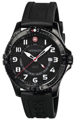 Wenger Watch Squadron GMT PVD D
