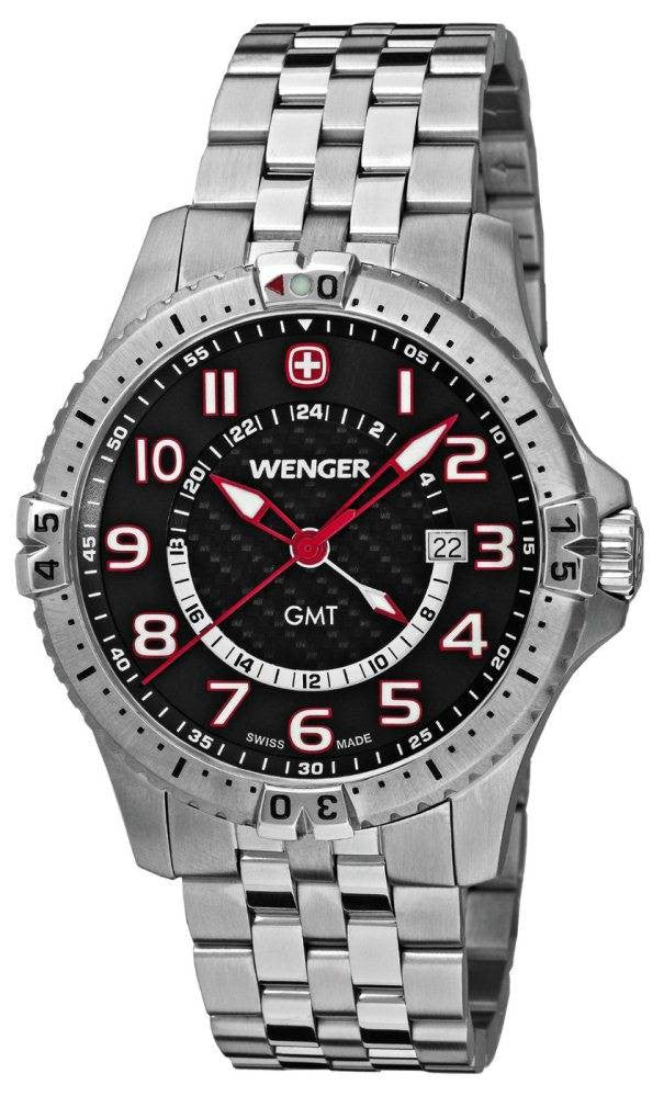 Wenger Watch Squadron GMT Bracelet D