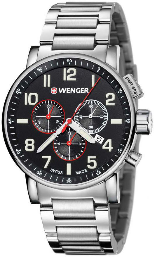 Wenger Watch Attitude Chrono D