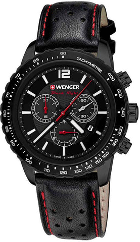 Wenger Watch Roadster Black Night Chrono PVD