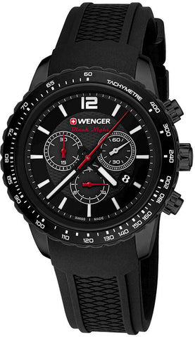 Wenger Watch Roadster Black Night Chrono PVD D