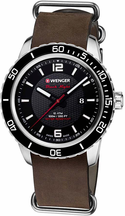 Wenger Watch Roadster Black Night Date D
