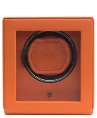 Wolf Cubs Single Winder With Cover Orange