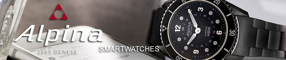 Alpina Smartwatches banner