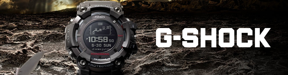 G-Shock Smartwatches banner