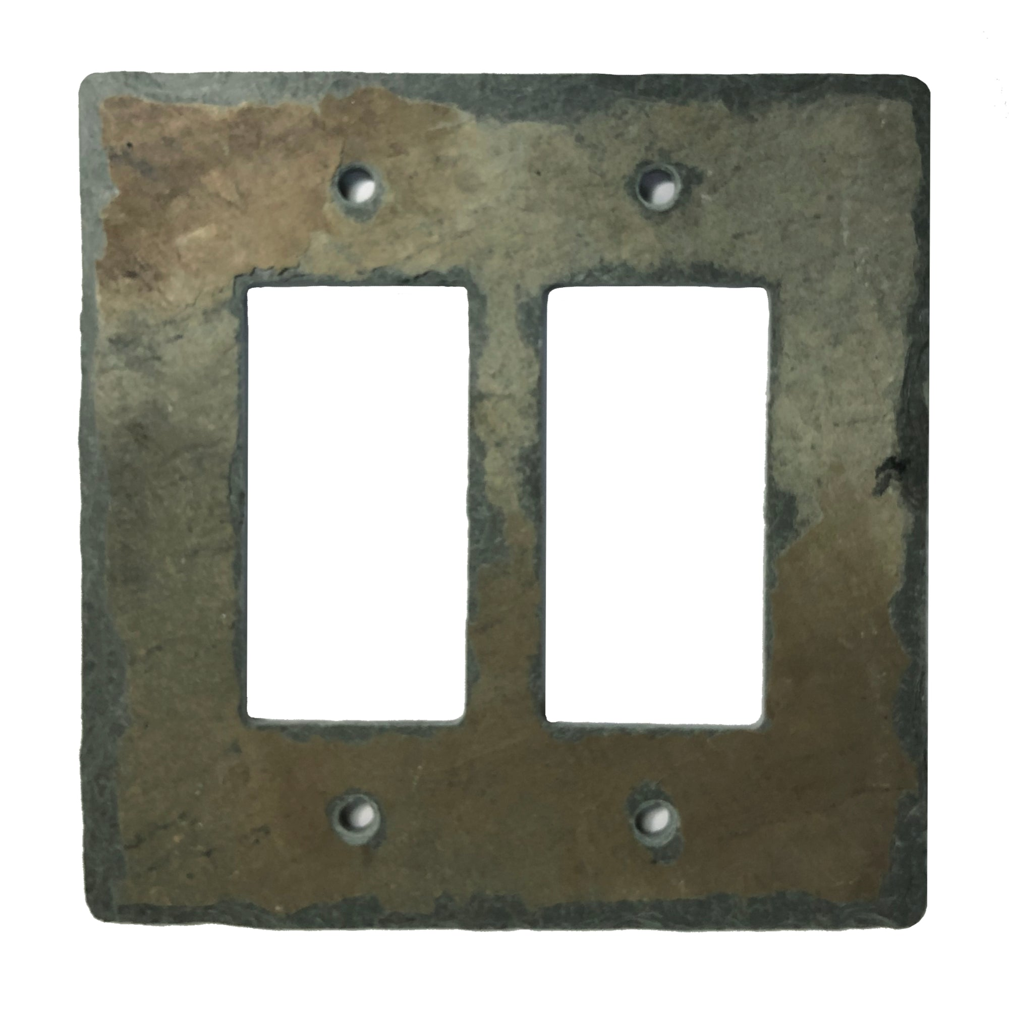 Earth Tone Slate Stone Light Switch And Outlet Covers Slate Wall Plates