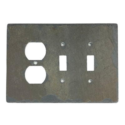 EARTH TONE SLATE STONE LIGHT SWITCH PLATES AND OUTLET COVERS