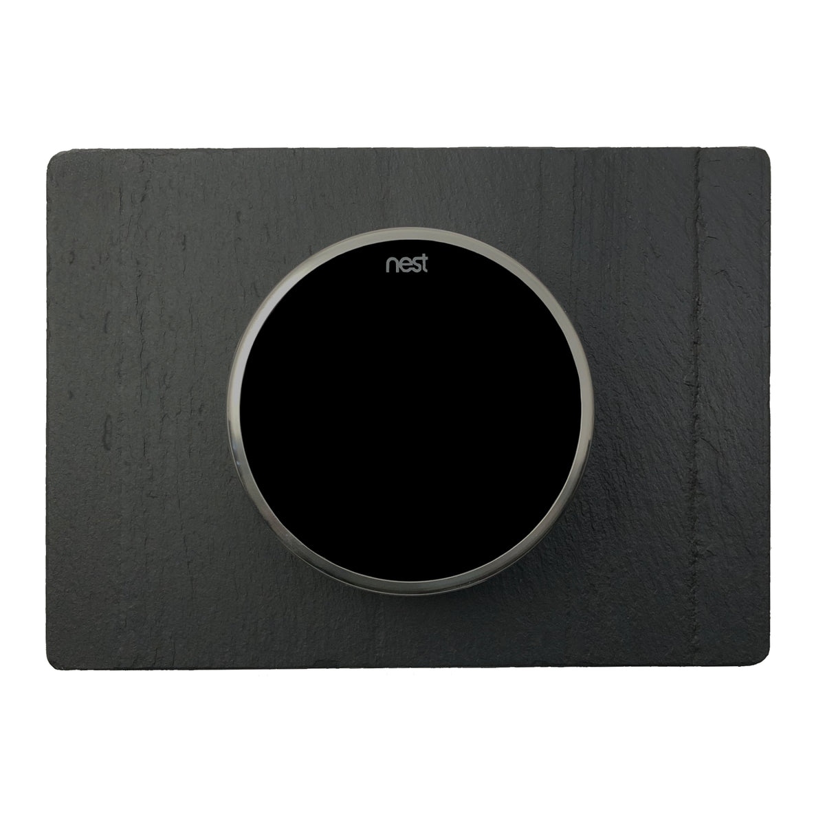Nest Wall Plate 7 x 5 Inches Black Slate Stone