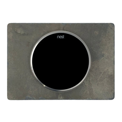 Nest Wall Plate 6 x 4.33 Inches Earth Tone Slate Stone