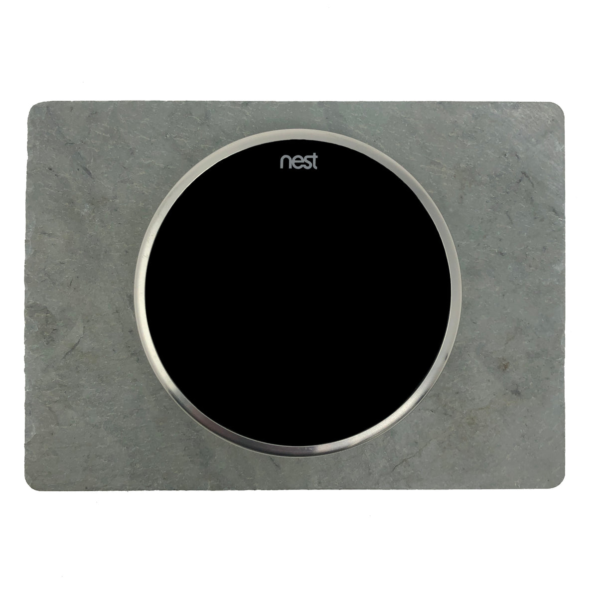 Nest Wall Plate 6 x 4.33 inches Gray Rectangle