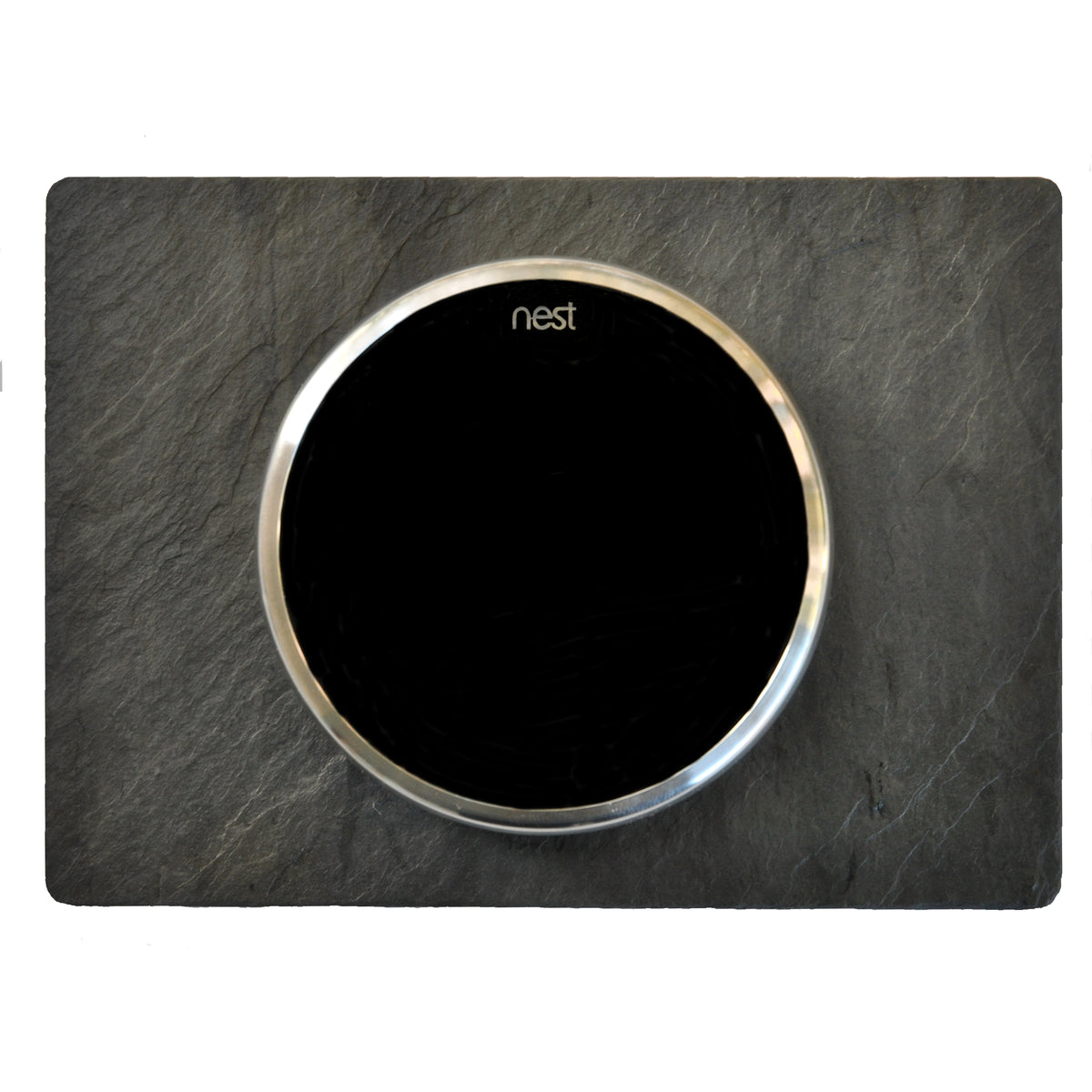 Nest Wall Plate 6 x 4.33 Inches Charcoal Gray