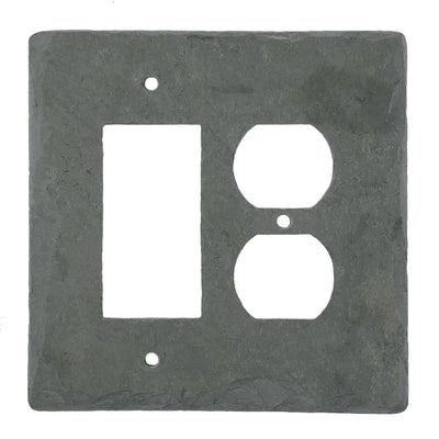 GRAY SLATE  SWITCH AND OUTLET COVERS