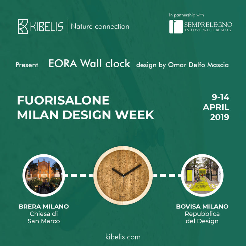 Kibelis at Fuorisalone - Milan Design Week 2019