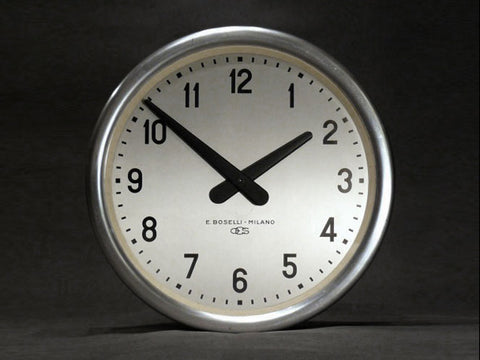 Gio Ponti for Boselli italian wall clock