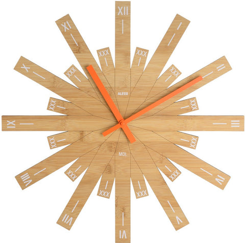 Raggiante design wall clock