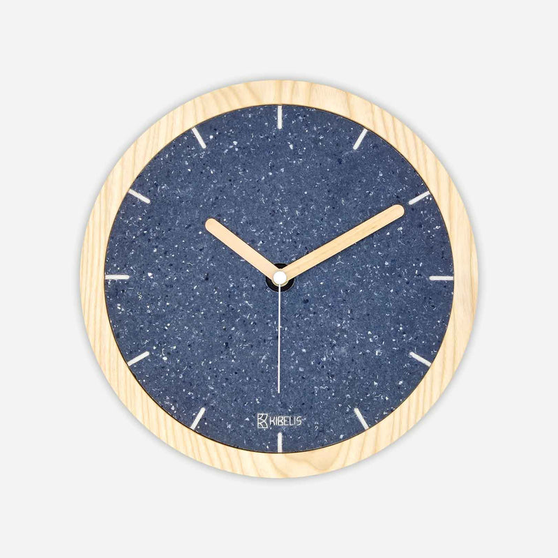 EORA Clock | Cotton blue
