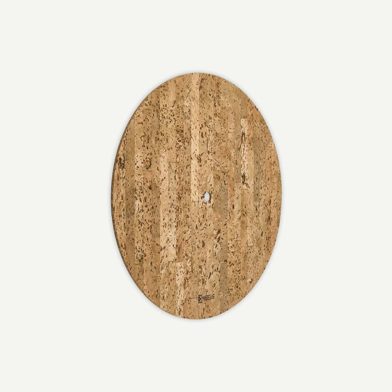 Kibelis Eora | Sustainable Design Wall Clock | Made in Italy ecofriendly Cork Dial - Side