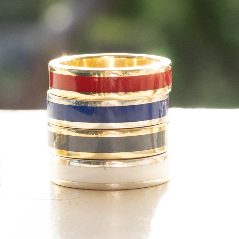 Men's Stripe Stacker