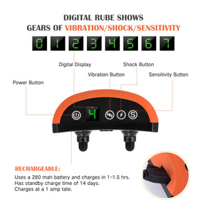 DOG ANTI BARK SHOCK COLLAR RECHARGEABLE