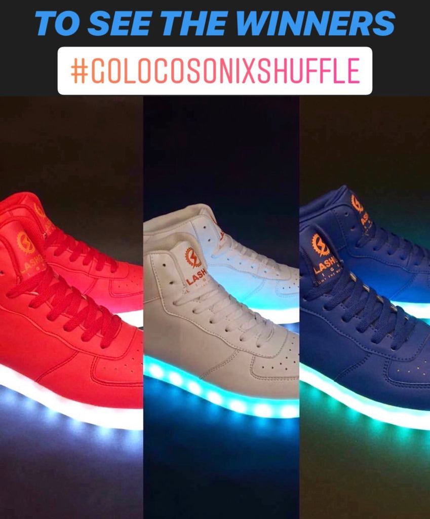 GoLocoSonixShuffle Winners Announcement